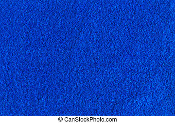 Blue felt natural texture for background.