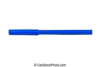 Blue felt pen