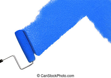 blue festmény