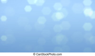 blue flare background - The background of snow flare falling...