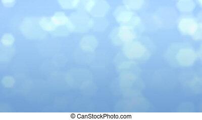 blue flare background