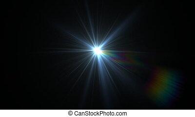 blue flare rotate