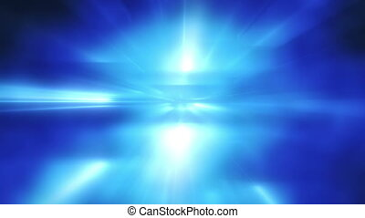 blue flashing lights loopable background