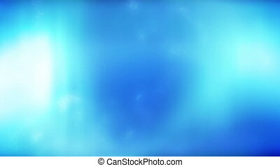Blue Flowing Abstract XTEN