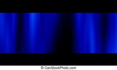 Blue Flowing Background
