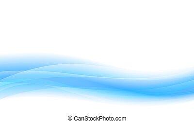 Blue Flowing Website or Brochure Background