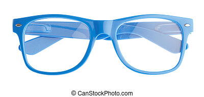 Blue Frame Of Eye Glasses
