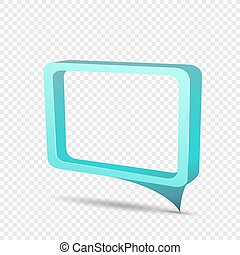 blue frame rectangular discount sticker