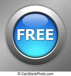 blue free button