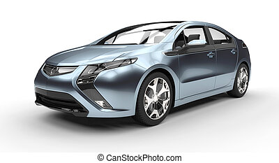 Blue Fusion Car