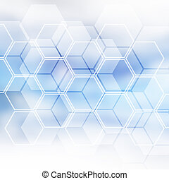 Blue Futuristic Background