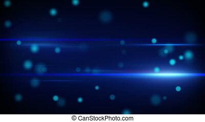 blue futuristic light stripes loop