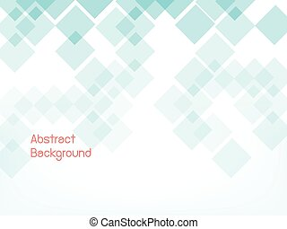 blue geometric abstract background with space