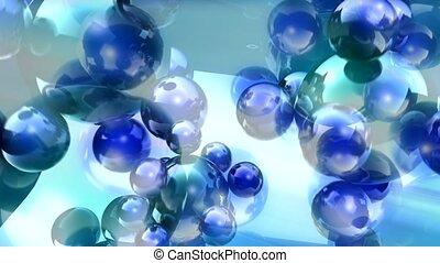 blue, geometric, glisten,