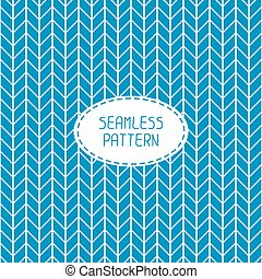 Blue geometric seamless pattern with chevron. Paper for scrapbook. Vector background. Tiling. Stylish graphic texture for your design, wallpaper.