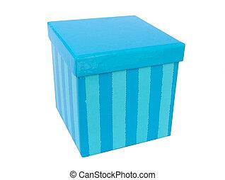 gift box - blue gift box