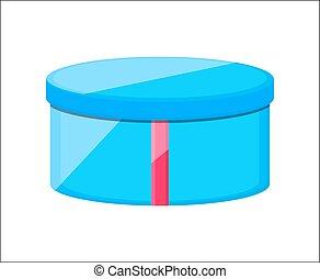 Blue Gift Box Vector