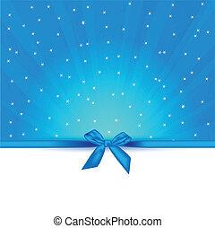 blue gift sample