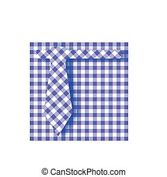 Blue Gingham Farhers Day Background