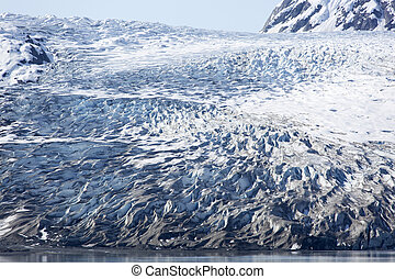 Blue Glacier Patterns