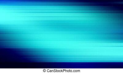 Animated CG background blue glitch mode feedback streaks looping animation