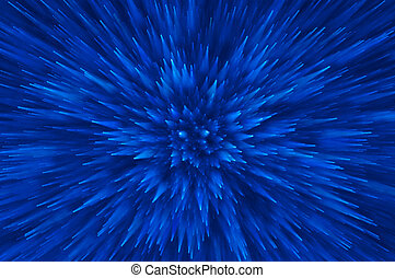 blue glitter explosion lights abstract background