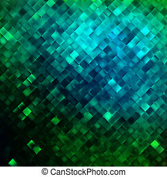 Blue glitters on a soft blurred. EPS 10