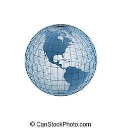 globe frame