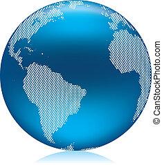 Blue Globe