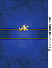 Blue & gold luxury background