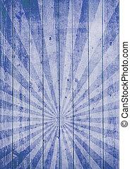 blue gothic stripe
