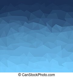 Blue gradient abstract vector background with geometric shapes. Polygonal pattern - trendy design