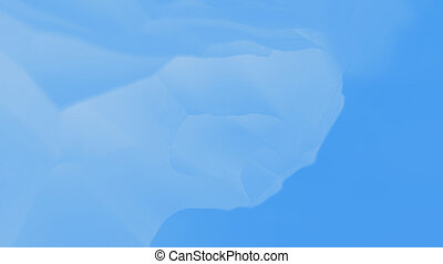 Blue gradient color abstract background, blurred lines, panorama