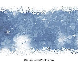 Blue gray Christmas background. EPS 8