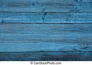 blue gray texture of old wooden fence wall boards