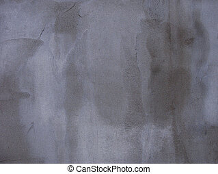 blue gray worn concrete wall with dirt marks