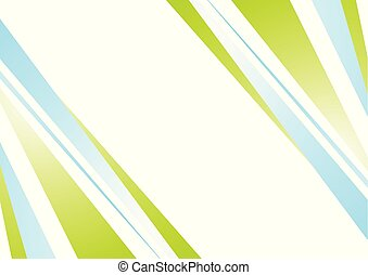 Blue green abstract minimal background
