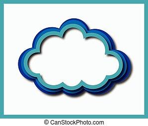 blue green cloud