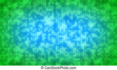 Blue Green Dots Loop
