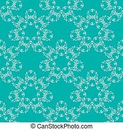 blue green seamless pattern