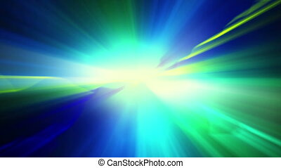 blue green shiny light loopable background