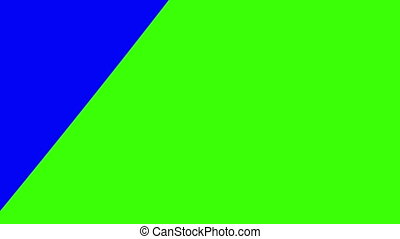 blue-green transition