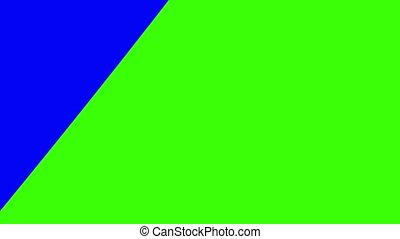 blue-green transition
