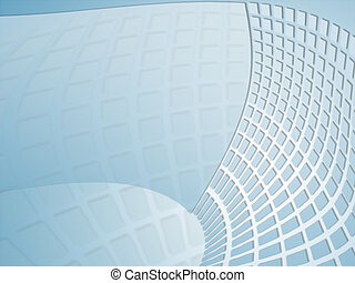 blue grid - composition of blue background with grid
