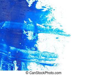 blue grunge brush strokes oil paint