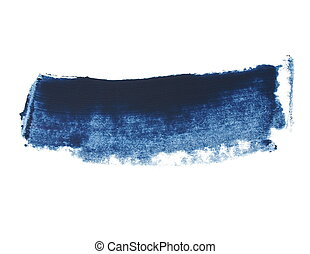 blue grunge brush strokes oil paint
