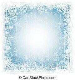 blue grunge christmas background