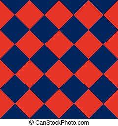 blue gyémánt, bizottság, háttér, piros, sakkjáték