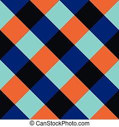 blue gyémánt, sakkjáték, háttér, narancs, bizottság