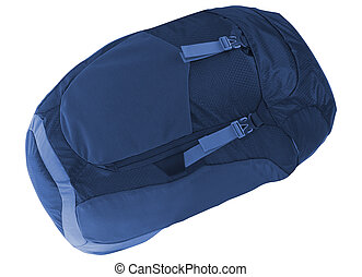 blue hátizsák, elszigetelt